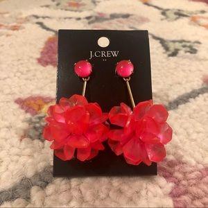 J. CREW: Pink Statement Earrings